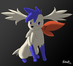 Blue The Shaymin