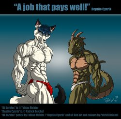 A job that pays well|by ReptileCynrik