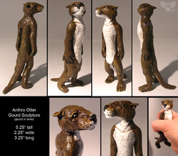 otter sculpture|by KailTheOtter