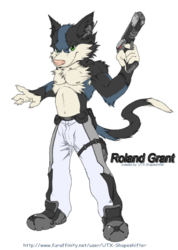 """Roland Grant"" The One Man Police force!~