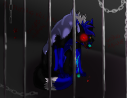 Caged Animal|by The_Shy_Violinist