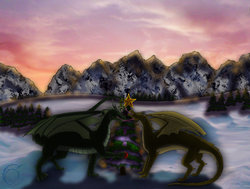 Forest Dragons Christmas|by Aquilla Whitegate