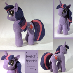Twilight Sparkle Plushie|by Sockmuffin Studios