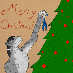 Christmas Drawing #1|by Strithor