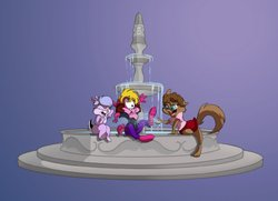 A Day at the Fountain by Spiritto|by BabsBunny