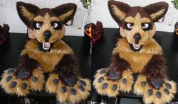 Riki fursuit WIP|by TheKarelia