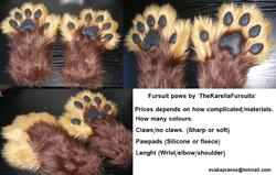 Paw commission TheKareliafursuits|by TheKarelia
