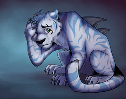 I'm still shy x3|by Storm_Tiger