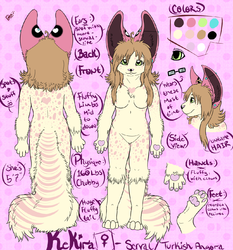 Kekira ref sheet 2012|by cryoester