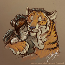 Snuggles|by Zhivago