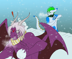 SNOW!!! X3|by Abraxas The Dragon