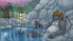 Hotsprings by Jamesless|by sasukewuff