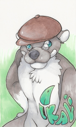 Alkali Badge by Patto|by AlkaliOtter