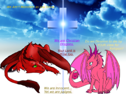 Christian Dragon|by Korvia