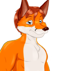 Fox Stud (Colored)|by Merryjest