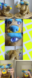 emosqueakys head commission -done-|by ShweeWolfCraftz