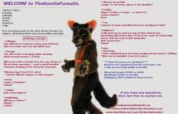 Ordering a Fursuit|by TheKarelia