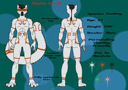 Sionn Ref sheet|by Sionn Foxkey
