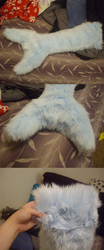 Tail commission -crunchbite-|by ShweeWolfCraftz