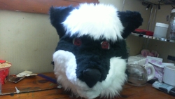sanzoku Fursuit Head|by Rockit Fox