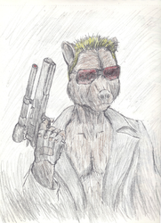 Terminator Bear|by Depraved Indifference