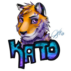 kato badge|by shynjy