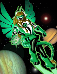 Green Lantern Windsmane|by Windsmane