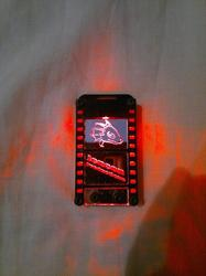 LED Filmstrip Badge for CF2012 - Lit|by Funlaser