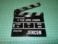 CF2012 - Clapperboard|by Funlaser