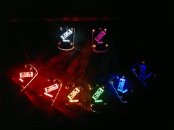 LED colour selection - Dogtags|by Funlaser