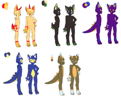 Discounted suit designs -see description for cheap suits-|by ShweeWolfCraftz