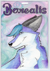 Borealis Badge - Furry Fiesta|by Oloroso Rhone