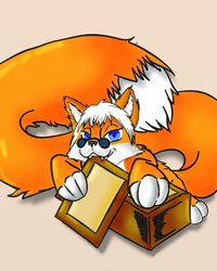 Come get your Cards Read by the fox!|by Damagefox