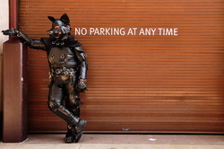 NO PARKING AT ANY TIME|by smash