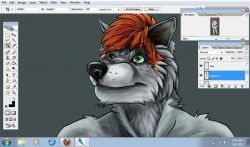 Deacon Digital Painting WIP|by BuckSaber