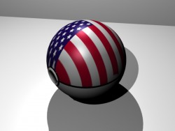 America Ball|by Deviantmarshal