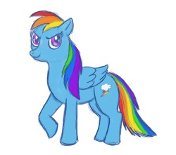 Pony Practice: Rainbow Dash
