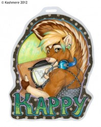 Kappy badge|by Kashmere