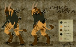 Chugabra Reference Sheet|by TameraAli