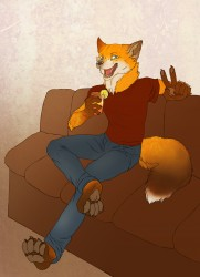 Drunkfox|by Doow