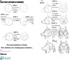 How to draw Werewolves|by qfzpjm159
