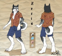 Zeris Reference Sheet|by TameraAli
