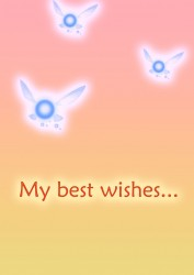Best Wishes...|by BlueSerperior
