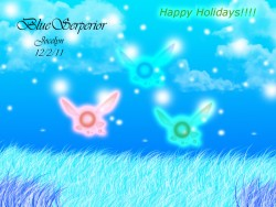 Holiday Fairies|by BlueSerperior