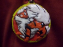 Arcanine Medallion Clay|by SynjoDeonecros