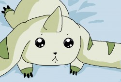 Terriermon is staring at you ~|by Little Creeper