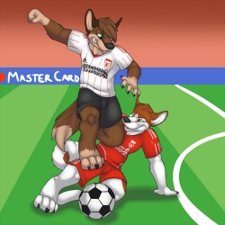 Slide tackle!|by K-2