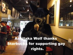 Thanks, Starbucks!|by Granas