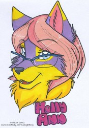 Holly Ann Badge|by midnightfury