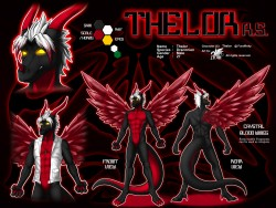 ref129/ Reference: Thelor (SFW)|by darkgoose
